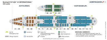 Airline Seating Charts