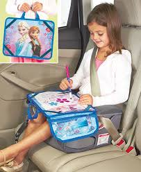 travel lap desk kids art set frozen for car home airplane busy art tray unbranded