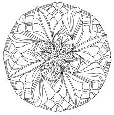 Mandala Coloring Pages Advanced Level B