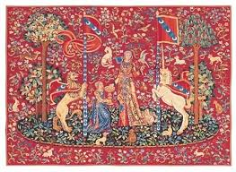 meval tapestry wall hanging unicorn