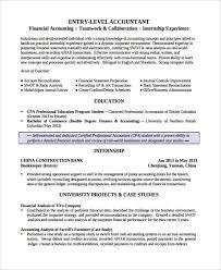 17+ Finance Resume Templates - Pdf, Doc | Free & Premium Templates
