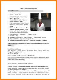 Chef Resume Cv Sample Chef Resume Sample Examples Sous Chef Jobs