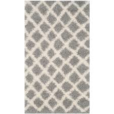 dallas gray ivory 3 ft x 5 ft area rug