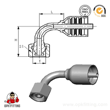 Hydraulic Hose Fittings Chart China Hydraulic Hose And Fitting Chart Factory And Suppliers