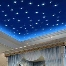 glow in the dark wall or ceiling stars
