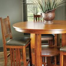 mission style dining set