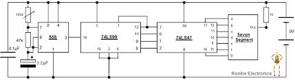 mod segment display rookie electronics electronics b board arrangement