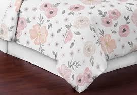 blush pink grey and white shabby chic