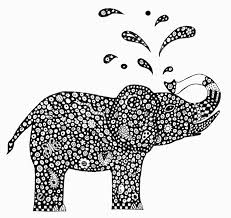 Small Picture indian elephant coloring pages printable Google Search
