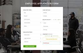 Free Sample Job Application Forms Employee Application Form Flat Responsive Widget Template