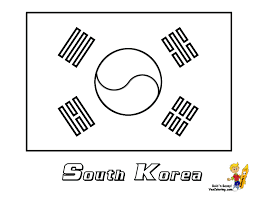 Small Picture Korean Flag Coloring Page AZ Coloring Pages korea Pinterest