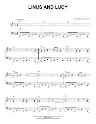 Sheet Music Digital Files To Print Licensed Vince Guaraldi