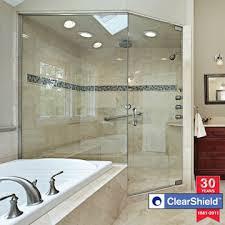 shower door treatment options clearshield shower door protectant