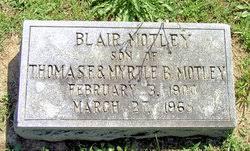 Blair Motley (1900-1965) - Find A Grave Memorial