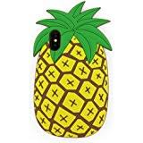 cute pineapple tumblr. iphone x case, 3d cartoon cute vivid summer fruit pineapple shaped soft rubber silicone case tumblr