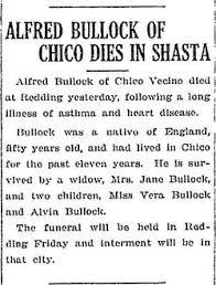 Alfred Bullock (1868-1918) - Find A Grave Memorial