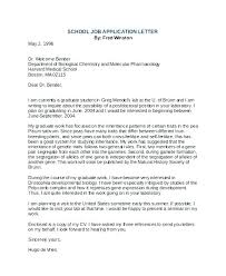 School Medical Certificate Format Job Application Letter For Student