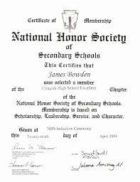 National Honor Society Resume Sample National Honor Society Resume