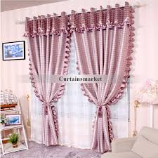 ... Printed Decorative window curtains of Polyester Material ...