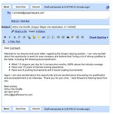 email for job application with resume best solutions of email job  application attached cover letter and