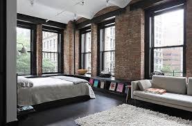 Great Jones Loft In New York L O F T L I V I N G Pinterest Magnificent 1 Bedroom Loft Minimalist Collection