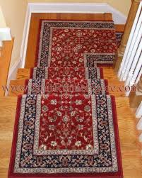Stair Runner Landing Installation Traditional Staircase