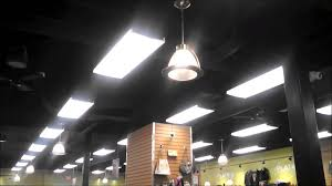 Black Ceilings envirofan gold line black ceiling fans in a clothing store plus 5742 by xevi.us