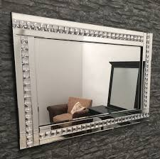 great large glass mirror framed crystal 120 x exclusive for bathroom picture frame mirrored jewellery box
