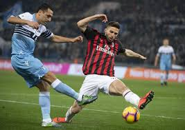 Lazio and AC Milan play out goalless first leg of Coppa Italia semi-final