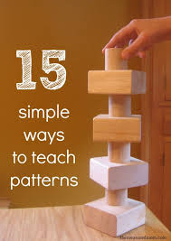 Pattern Activities For Preschoolers Interesting 48 Simple Ways To Teach Patterns To Preschoolers The Measured Mom