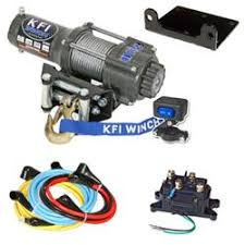 winches winch accessories for best motorcycle winches kfi 2500lb winch kit
