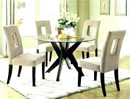 circle glass dining table 3 feet diameter round glass dining table round dining table for 6