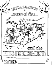 Small Picture Fire Truck Printable Coloring Pages Fire Truck Coloring Sheet Az