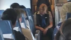 Drunk Flight Attendant Passes Out During Flight