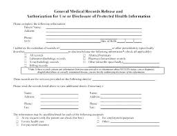 Request For Medical Records Form Template Medical Records Release Form Template Example Free Request Medi