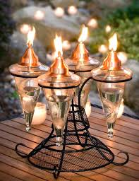 Outdoor torch lights Copper Table Yuntetechcom Garden Torch Outdoor Torches With Stands Soulheartistcom