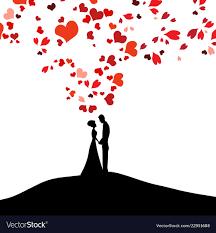 Wedding Design Over White Background