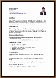 Sample Resume For Application Support Analyst Resume For Your