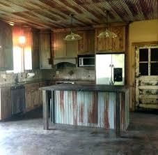 corrugated tin backsplash corrugated metal kitchen corrugated metal island barn siding like the kitchen layout not