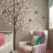 wind swept tree with birds wall sticker on wall art tree images with wind swept tree with birds wall sticker by wall art