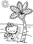 Disegni Di Hello Kitty Da Colorare Pagine Da Colorare Stampabili