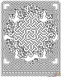 Printable Celtic Knot Designs Celtic Art Coloring Pages Free Coloring Pages
