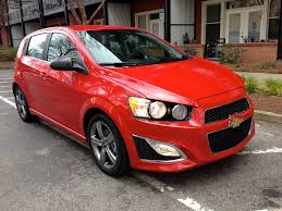 2013 Chevrolet Sonic RS: Technology that rivals luxury brands ...