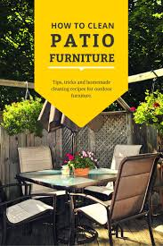 furniture cool how to clean aluminum patio room ideas
