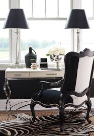 black and white home office. + ENLARGE Black And White Home Office O