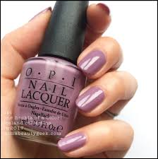 Opi Purple Color Chart Opi Iceland Swatches And Review Fw 2017 Collection Beautygeeks