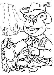 Cowboy Cowgirl Coloring Pages Cowboy Cowgirl Coloring Pages Free