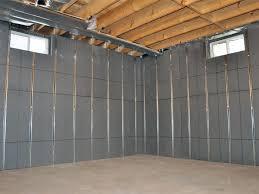 installed basement wall panels installed in elmhurst