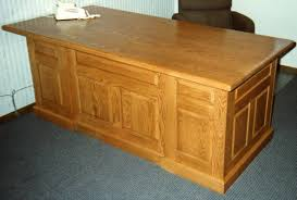 oak office table. Wonderful Office Custom Made Executive Office Desk And Oak Table