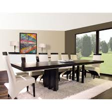 A-America Bristol Point Rectangular Extension Dining Table - Warm Gray |  Hayneedle